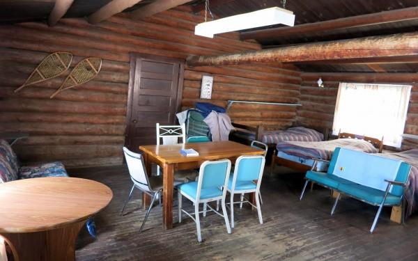 Cabin 1 Dining area
