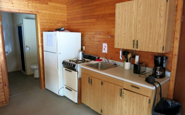 Cabin 4A kitchen