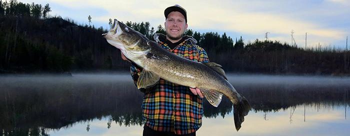 Fishing at Northern Light Resort