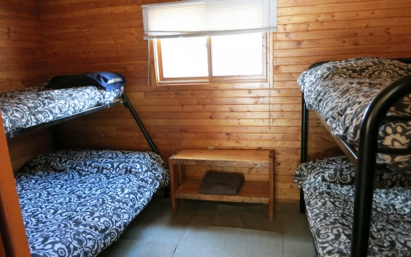 Cabin 4A bedroom
